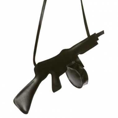 Gangster tasje geweer