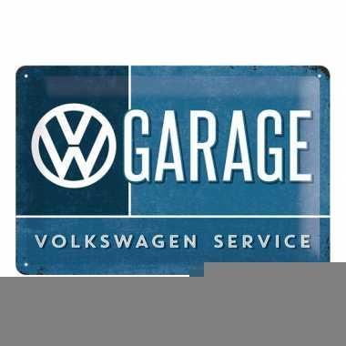 Garage decoratie vw service