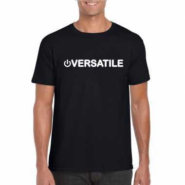 Gay shirt power versatile zwart heren