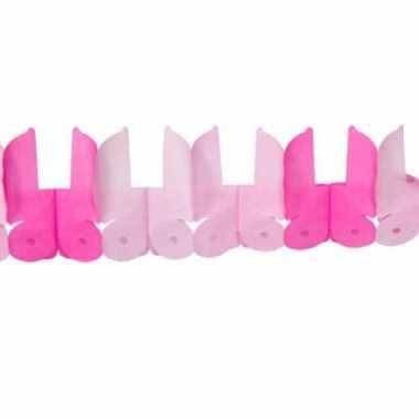 Geboorte slinger meisje roze