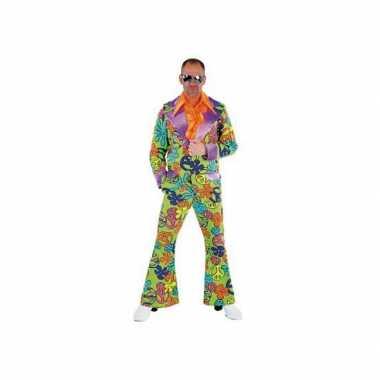 Gekleurd jaren zeventig kostuum