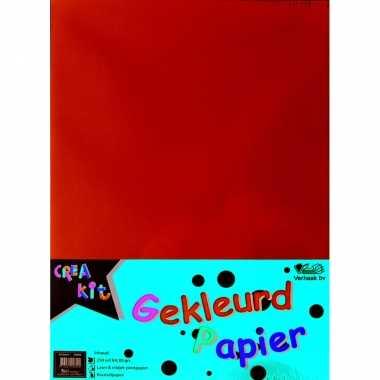 Gekleurd papier a4 250 vellen/80 gr