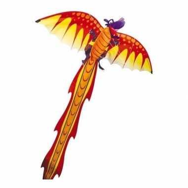 Gekleurde 3d vlieger voor kinderen draak