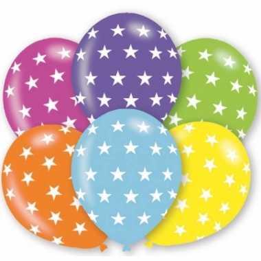 Gekleurde ballonnen met sterren