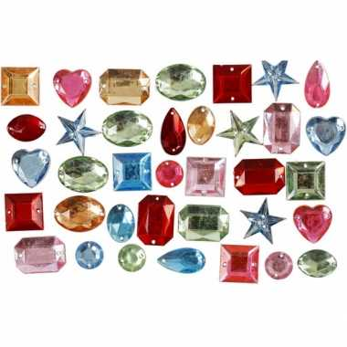 Gekleurde diamanten stenen 15 gr