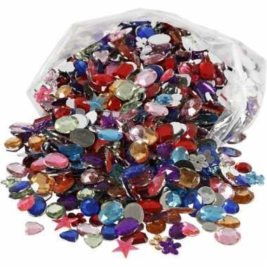 Gekleurde diamanten stenen 1600 stuks
