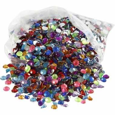 Gekleurde diamanten stenen 3000 stuks