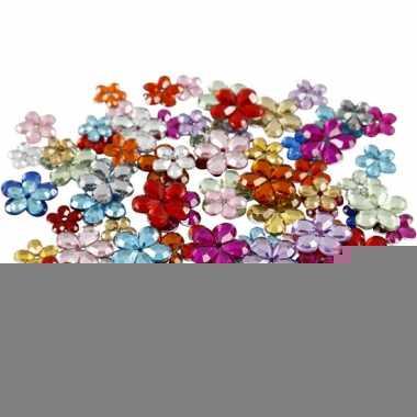 Gekleurde diamanten stenen bloemen 504x