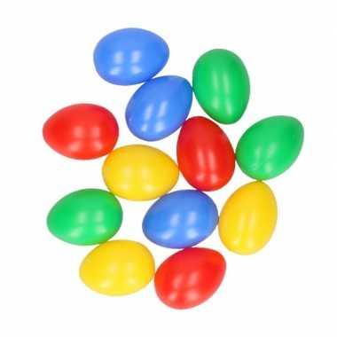 Gekleurde eieren 12 stuks