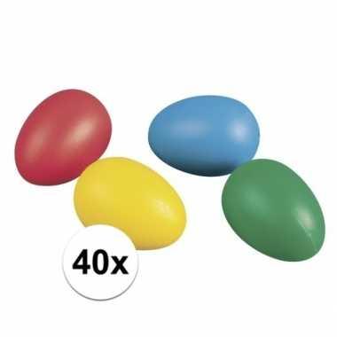 Gekleurde eieren 40 stuks
