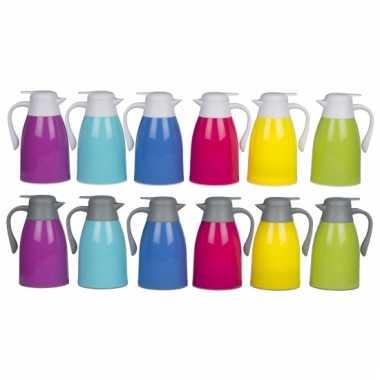 Gekleurde isoleerkan 1 liter