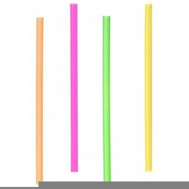 Gekleurde rietjes 12,5 cm 400 stuks