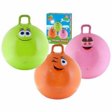 Gekleurde skippybal voor kids 70 cm