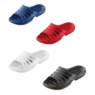 Gekleurde zwembad sandalen voor heren