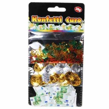 Geld confetti plastic