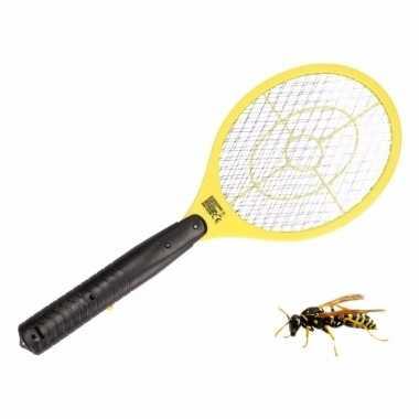 Gele elektrische wespenmepper/vliegenmepper