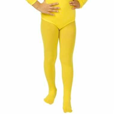 Gele kinder panty