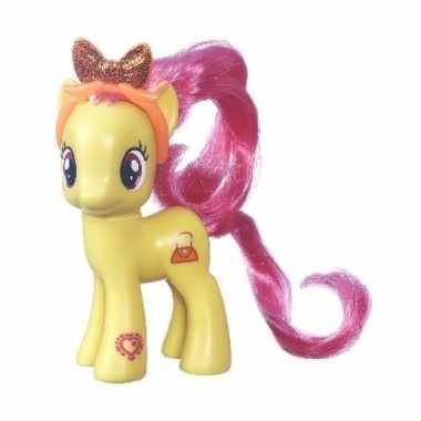 Gele my little pony schoenkado pop 8 cm