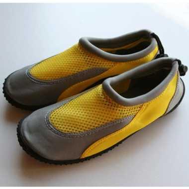 Gele zwemschoenen voor dames