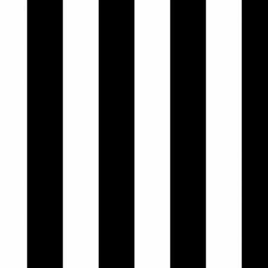 Geschenkpapier zwart met wit gestreept 70 x 200 cm