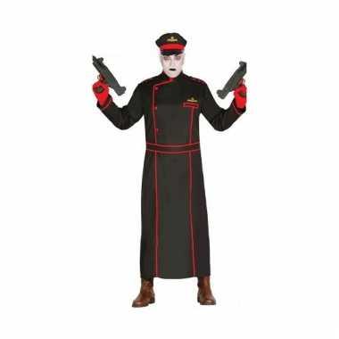 Gestapo verkleedkostuum in het zwart