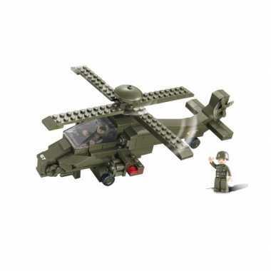 Gevechtshelikopter bouwsteentjes