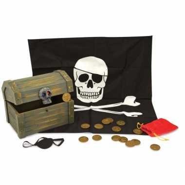 Gevulde piraten schatkist