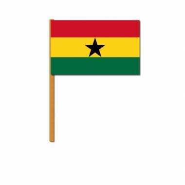 Ghana zwaaivlaggen