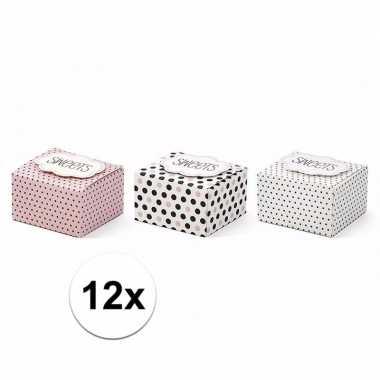 Giftboxes sweets 12 stuks