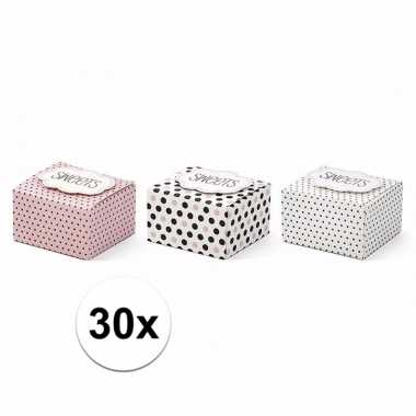 Giftboxes sweets 30 stuks