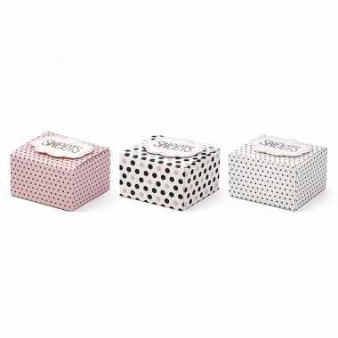Giftboxes sweets 6 stuks