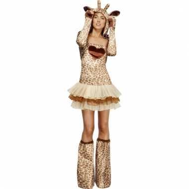 Giraf verkleedoutfit voor dames