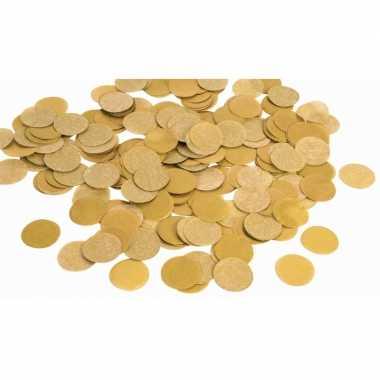 Gouden papieren confetti 88 gram