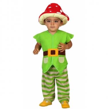 Groene kabouter kostuums voor peuters trend