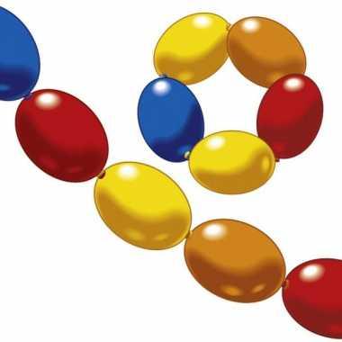 Guirlande ballonnen met verschillende kleurtjes