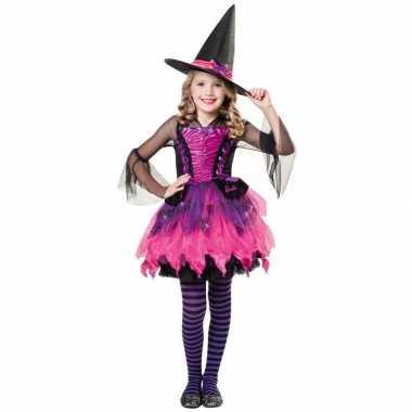 Halloween - barbie heksen kostuum voor meisjes