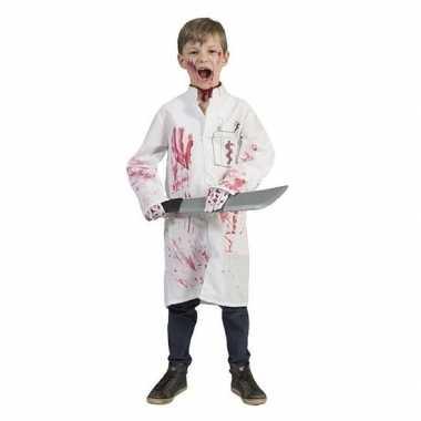 Halloween - bloederige doktersjas voor jongens