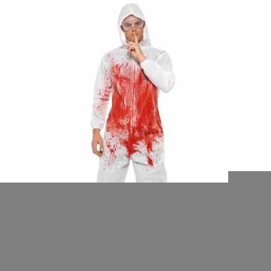 Halloween - bloederige overall voor heren