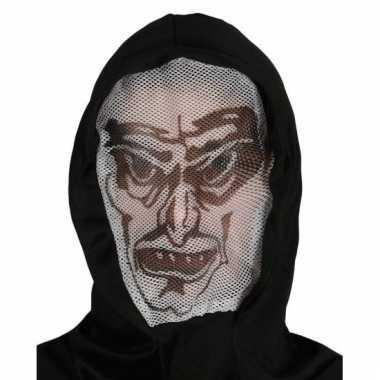Halloween capuchon masker