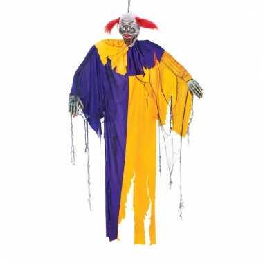 Halloween clown decoratie 170 cm