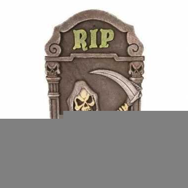 Halloween - decoratie halloween grafsteen magere hein 60 cm