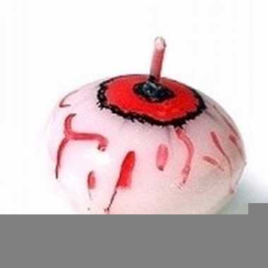Halloween drijvende oogbol kaars