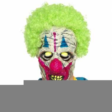 Halloween - glow in the dark clowns masker