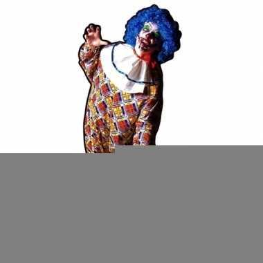 Halloween - groot decoratie bord horror clown