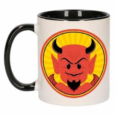 Halloween - halloween duivel mok / beker 300 ml