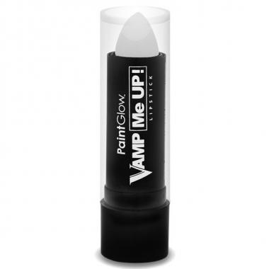 Halloween - halloween/horror mat witte lippenstift/lipstick
