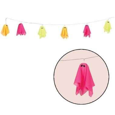 Halloween - halloween slinger 3d spookjes met licht