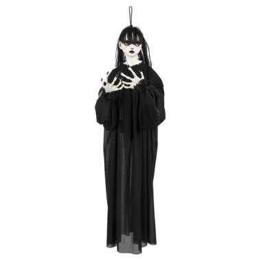 Halloween - halloween versiering horror meisje pop 85 cm