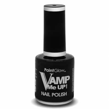 Halloween - heksen/vampieren mat zwarte nagellak 12 ml
