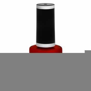 Halloween - heksen/vampieren nagellak mat rood 12 ml